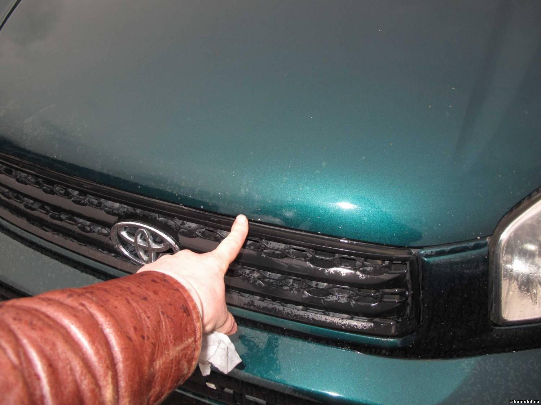 Как убрать мелкие сколы на машине своими руками 14