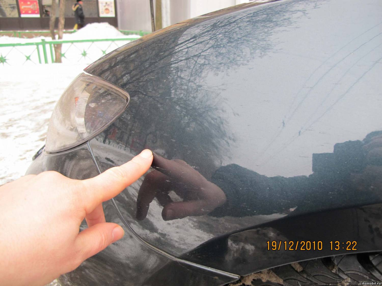 Как заделать сколы на автомобиле своими руками 58